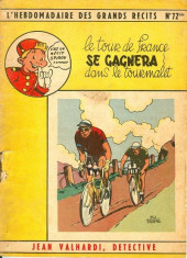L'hebdomadaire des grands récits -72bis- Jean Valhardi, détective : Le Tour de France se gagnera dans le Tourmalet
