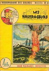 L'hebdomadaire des grands récits -51- Jean valhardi détective : les naufrageurs