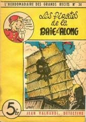 L'hebdomadaire des grands récits -34- Jean valhardi détective : les pirates de la baie d'along