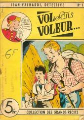 L'hebdomadaire des grands récits -1- Jean Valhardi, détective : vol sans voleur...