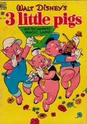 Four Color Comics (Dell - 1942) -218- Little Pigs and the Wonderful Magic Lamp