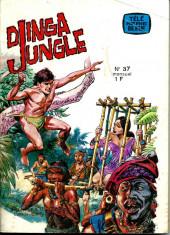 Télé série bleue (Les hommes volants, Destination Danger, etc.) -37- Djinga Jungle: La piste du sel