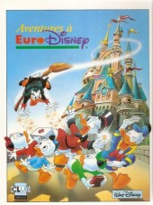 Walt Disney (Dargaud) - Aventures à EuroDisney