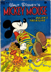 Four Color Comics (Dell - 1942) -231- Mickey Mouse and the Rajah's Treasure