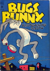 Four Color Comics (Dell - 1942) -233- Bugs Bunny, Sleepwalking Sleuth