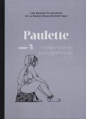 Les grands Classiques de la Bande Dessinée érotique - La Collection -7361- Paulette - tome 5