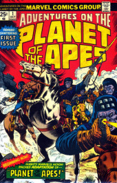 Adventures on the Planet of the Apes (Marvel comics - 1975) -1-