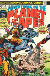 Adventures on the Planet of the Apes (Marvel comics - 1975) -2- World of Captive Humans