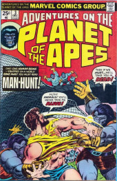 Adventures on the Planet of the Apes (Marvel comics - 1975) -3- Man-Hunt!