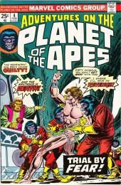 Adventures on the Planet of the Apes (Marvel comics - 1975) -4- Trial by Fear!
