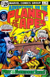 Adventures on the Planet of the Apes (Marvel comics - 1975) -5- Fury in the Forbidden Zone!