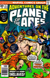 Adventures on the Planet of the Apes (Marvel comics - 1975) -8- Enslaved!