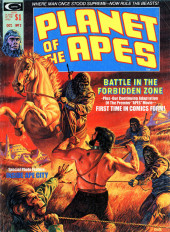 Planet of the Apes (Marvel comics - 1974) -2- Battle in the Forbidden Zone!