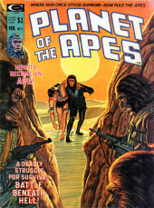 Planet of the Apes (Marvel comics - 1974) -5- How to Become an Ape