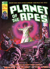 Planet of the Apes (Marvel comics - 1974) -10- Beneath the Planet of the Apes!