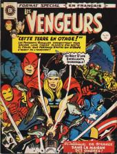 Les vengeurs (Éditions Héritage) -10- Cette terre en otage!