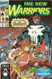 New Warriors (The) (1990) -9- Hard choices part three: Following the line along the middle