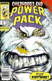 Power Pack Vol.1 (Marvel comics - 1984) -42- Revenge of the Boogyman