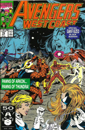 Avengers West Coast (1989) -75- Hostages to fortune