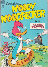 Four Color Comics (Dell - 1942) -249- Woody Woodpecker in the Globe Trotter