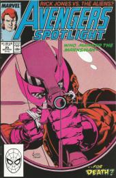 Solo Avengers (1987) (Puis Avengers Spotlight) -25- Forewarned is disarmed!
