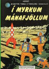 Tintin (en langues étrangères) -17Islandais- I myrkum manafjöllum