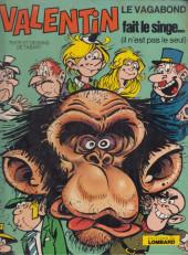 Valentin le vagabond -4'- Valentin fait le singe