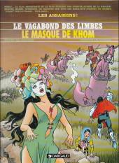 Le vagabond des Limbes -11c1999- Le masque de Kohm