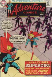 Adventure Comics (1938) -381- The Supergirl Gang