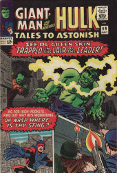 Tales to astonish Vol. 1 (Marvel - 1959) -69- Trapped in the Lair of the Leader! / Oh, Wasp, Where Is Thy Sting?