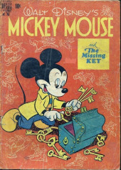 Four Color Comics (Dell - 1942) -261- Mickey Mouse and the Missing Key