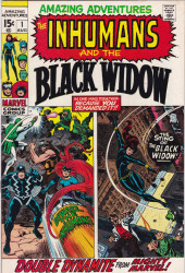 Amazing Adventures Vol.2 (Marvel - 1970) -1- Beware.. the Inhumans! / The Sting of the Black Widow!