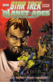 Star Trek/Planet of the Apes: The Primate Directive -4Reg- Issue #4