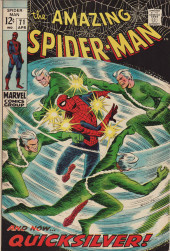 Amazing Spider-Man (The) (1963) -71- And Now...Quicksilver!