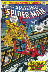 Amazing Spider-Man (The) (1963) -133- The Battle to the Finish With the Molten Man!