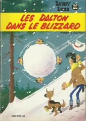 Lucky Luke -22a77- Les Dalton dans le blizzard