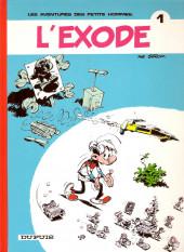 Les petits hommes -1b1987- L'exode