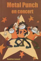 Le martien -14- Metal Punch en concert