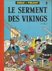 Johan et Pirlouit -5f84- Le serment des vikings