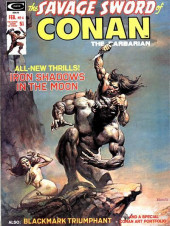 Savage Sword of Conan The Barbarian (The) (1974) -4- Iron Shadows in the Moon