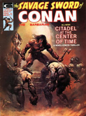 Savage Sword of Conan The Barbarian (The) (1974) -7- Citadel at the Center of Time