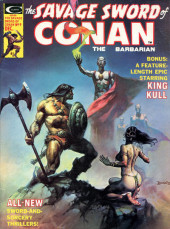 Savage Sword of Conan The Barbarian (The) (1974) -9- The Curse of the Cat-Goddess