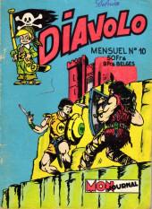 Diavolo (2e Série - Aventures et voyages) -10- Rudy le trappeur : Red, le chef des pillards