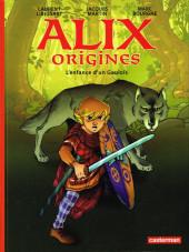 Alix origines -1- L'enfance d'un gaulois