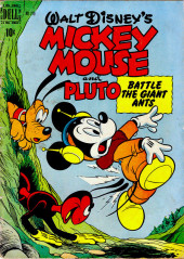 Four Color Comics (Dell - 1942) -279- Mickey Mouse and Pluto Battle the Giant Ants