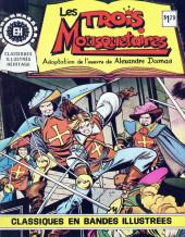 Classiques illustrés (Éditions Héritage) -1- Les trois mousquetaires