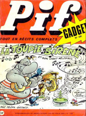 Pif (Gadget) -150- La toupie sirène