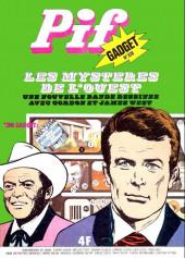 Pif (Gadget) -320- Les mystères de l'ouest