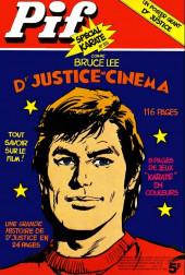 Pif (Gadget) -355- Comme Bruce Lee Dr. justice au cinéma
