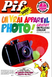 Pif (Gadget) -372- Un vraie appareil photo